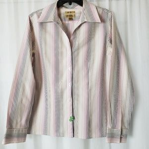# Gold Label Investments Blouse Button Down 2 Tops